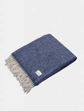"Coudre Berlin Blanket ""Pick Stitch"" Blue"