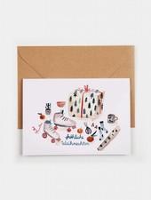 """Gretas Schwester Weihnachtskarte """"Geschenke"""""""