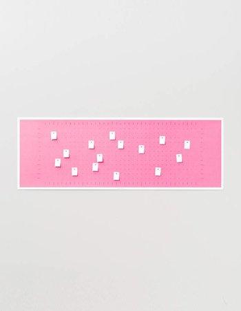 "Wall calendar ""Bubble Pink"" 2018"