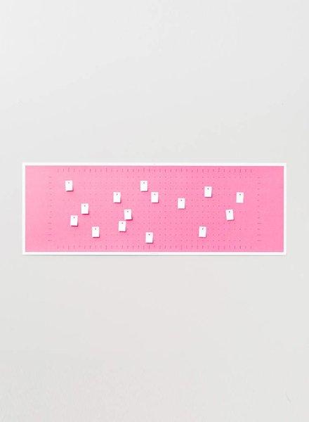 """Wandkalender """"Bubble Pink"""" 2018"""