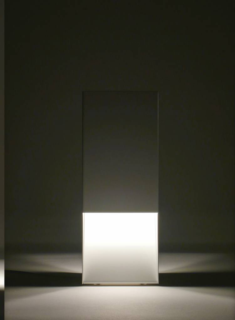 "Linea1 Table lamp ""Linea1_tl.s"" - Lamp made of galvanized sheet steel"