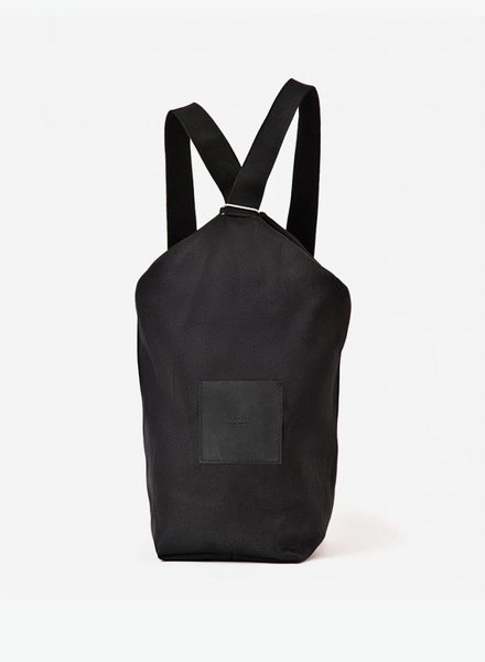 "Hänska Backpack ""Lucid.2 "" Organic Black Cotton"