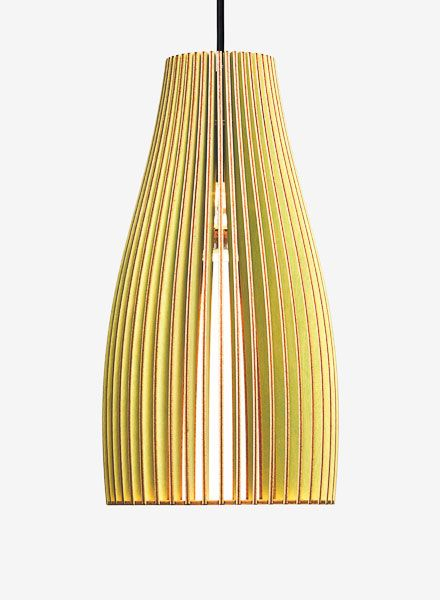 "IUMI Pendant lamp ""ENA L"" - made of birch plywood in 6 colours"