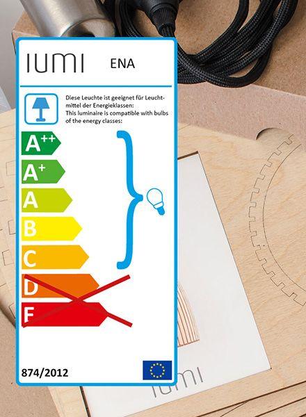 """IUMI Hängeleuchte """"ENA L"""" - Aus Birkenholz in 6 verschiedenen Farben"""