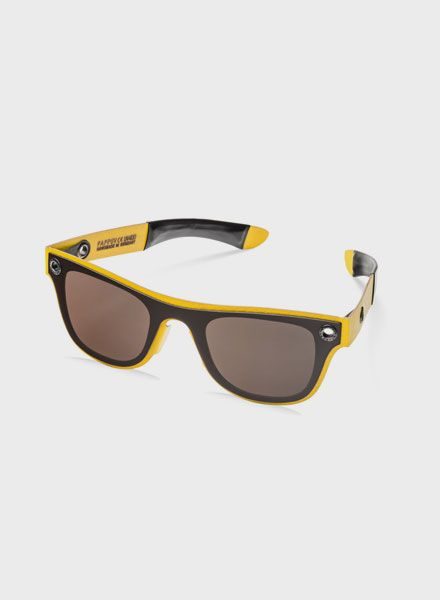 PAPPUP Papp UV Cosmo  - Sunglasses made of wood leftovers with UV 400 polarization filter