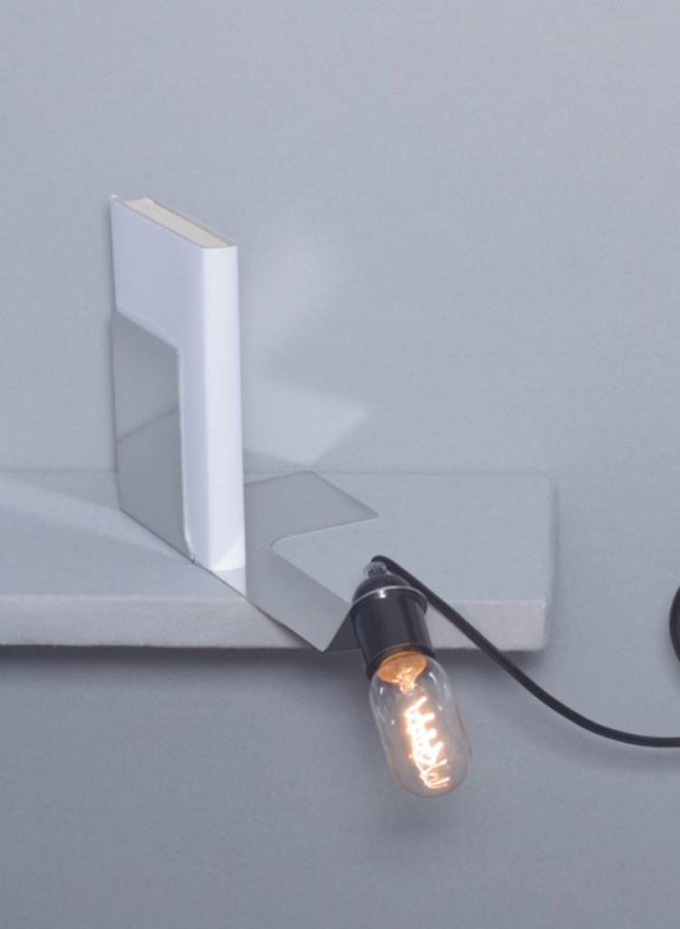 "Toshi Book end lamp ""Skipper"" - Made of powder coated sheet of steel"