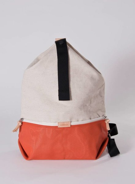 "Hänska Backpack ""Lucid Rust Linen"""