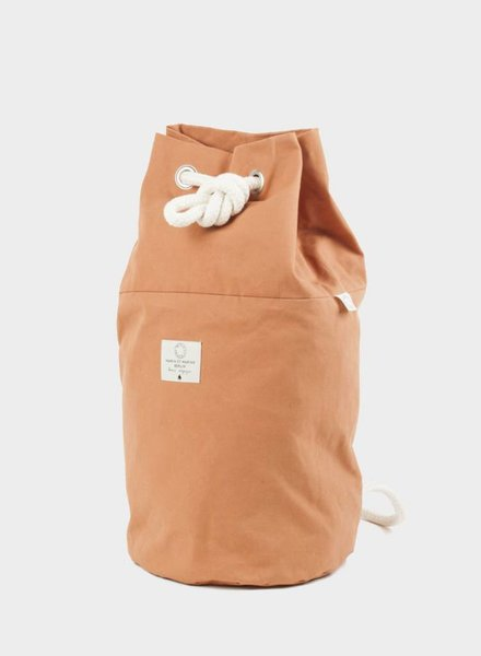 "Marin et Marine Backpack ""rainbag"" caramel"