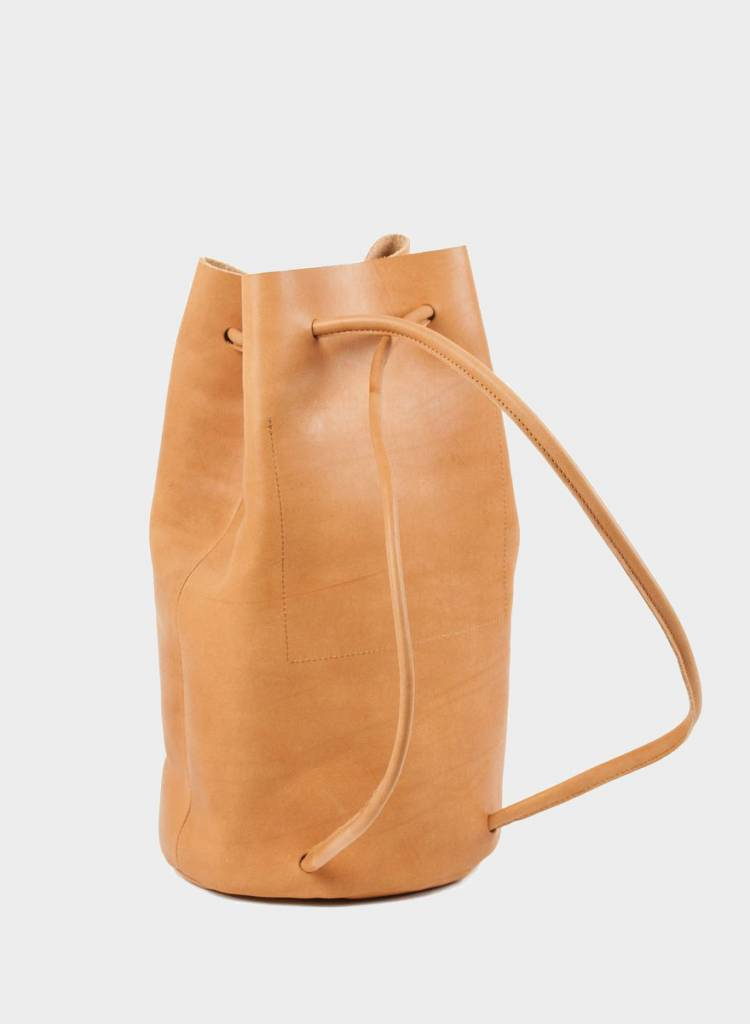 Marin et Marine Backpack handcrafted of ecological tanned leather
