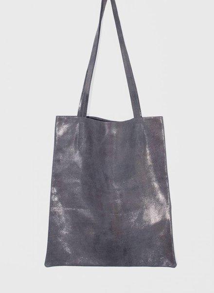 """Matke Bag """"Starlight Unlined"""" Blue silver"""