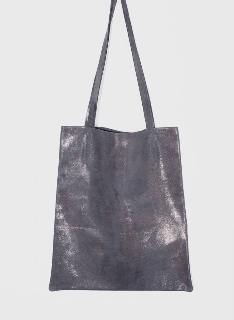 "Matke Leather Bag ""Starlight"" with glitter finish"
