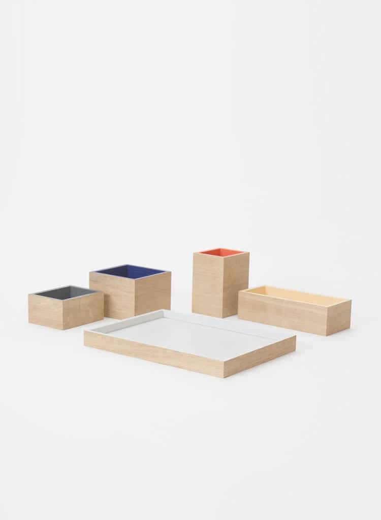 Bartmann Berlin Ordnungssystem für den Schreibtisch aus Holz