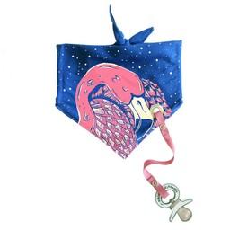 Electrik Kidz kwijlslab flamingo