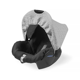Jollein zonnekapje Diamond knit Grey