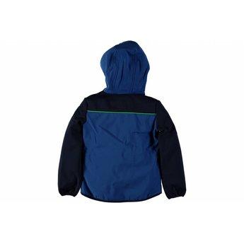 Tygo & Vito softshell jacket hood Blue