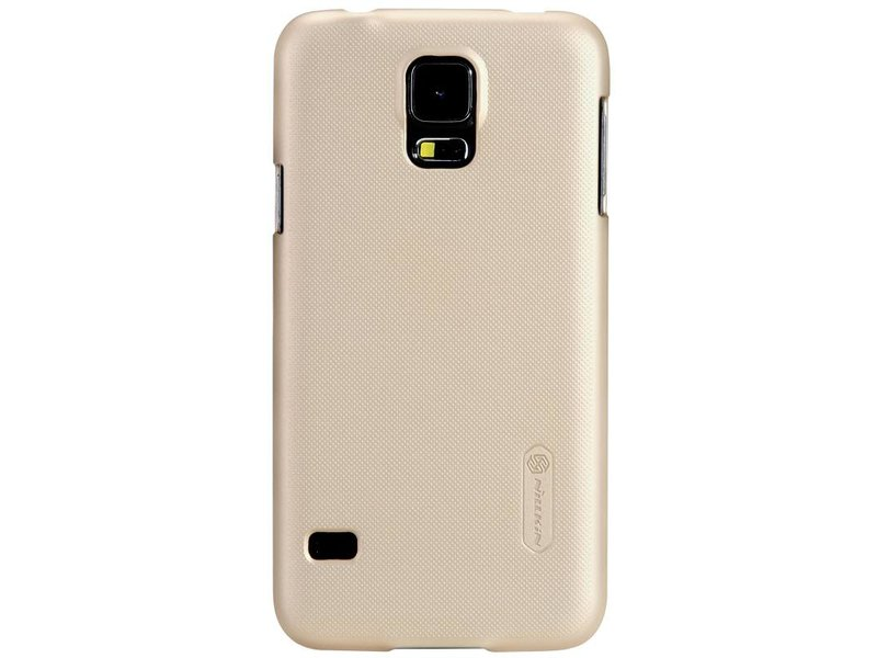 Samsung Galaxy S5 Frosted Shield Back Cover Goud