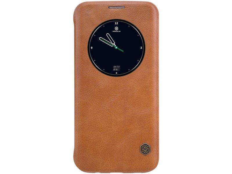 Samsung Galaxy S7 Edge Qin Flip Case Bruin