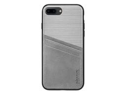 Hoesje Apple iPhone 7 Plus Classy Bumper Case Zilver