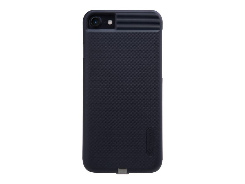Apple iPhone 7 Magic Back Cover Zwart