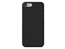 Hoesje Apple iPhone 7 Carbon Fiber Case Zwart