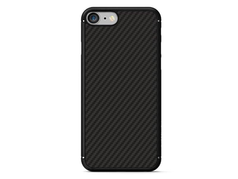 Apple iPhone 7 Carbon Fiber Case Zwart