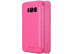 Hoesje Samsung Galaxy S8 Sparkle Flip Case Roze