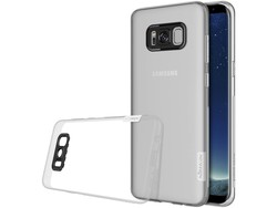 Hoesje Samsung Galaxy S8+ Nature Back Cover Wit