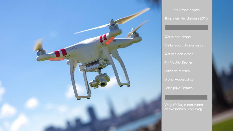 Een Drone Kopen - Beginners Handleiding 2016