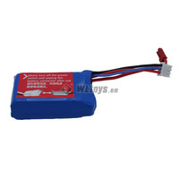 Wltoys Auto Batterij Lithium battery 7.4V 1100mAh