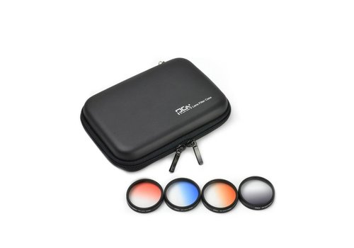 PGYTECH PGYTech Phantom 4 Pro Graduated ND Filter Set 4-pack (Grijs, Oranje, Blauw, Rood)