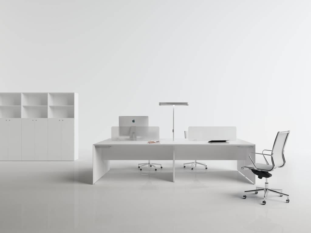 fantoni quaranta5 bureau 90cm diep design online meubels. Black Bedroom Furniture Sets. Home Design Ideas