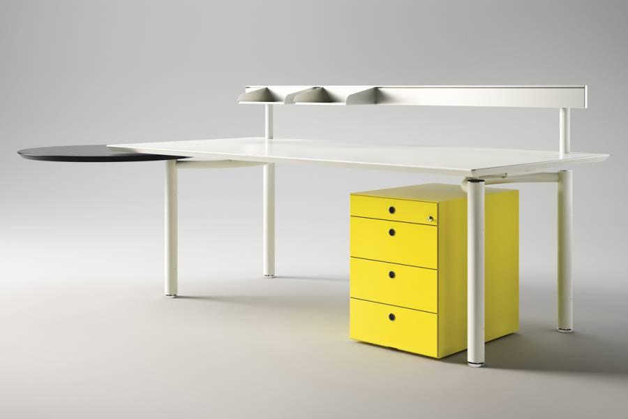 fantoni meta bureau 80cm diep design online meubels