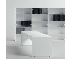 Kast Voor Glazen : Fantoni qaranta5 kast met glazen deuren design online meubels
