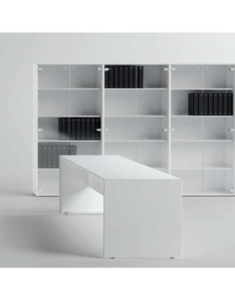 Fantoni Qaranta5 kast met glazen deuren - Design Online Meubels