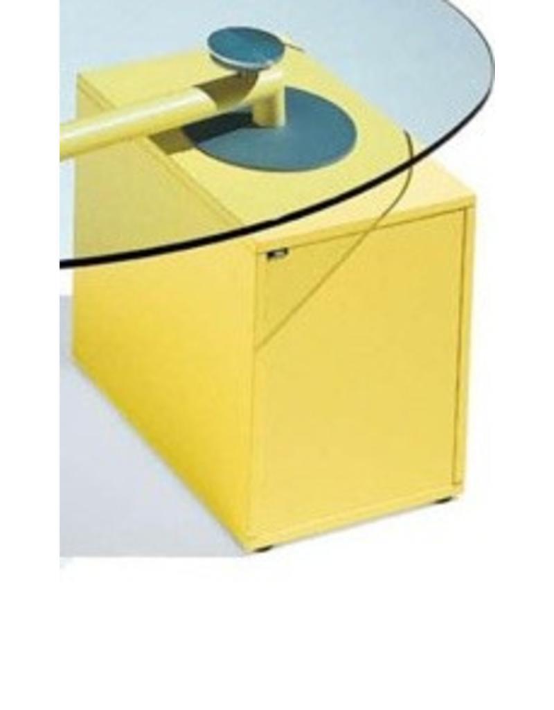 Ultom isotta glazen bureau design online meubels for Ladeblok bureel