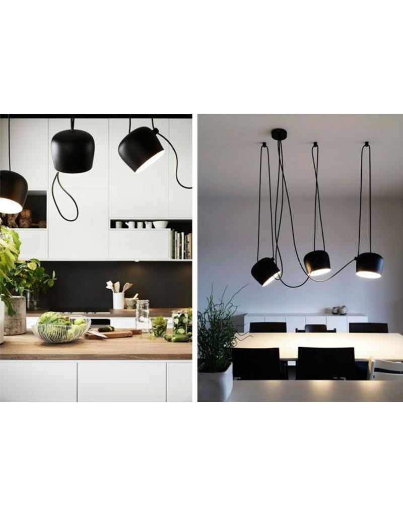 Flos aim sospensione led hanglamp design online meubels for Flos lampadario sospensione