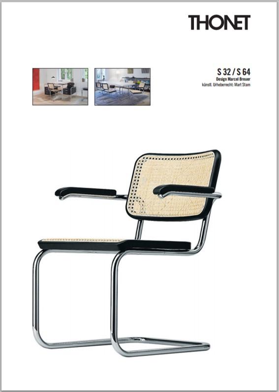 thonet s32n stoel design online meubels. Black Bedroom Furniture Sets. Home Design Ideas