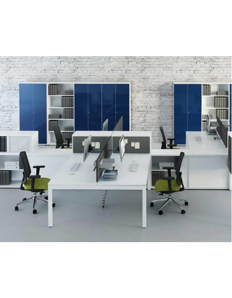 mdd ogi u dubbel bureau design online meubels. Black Bedroom Furniture Sets. Home Design Ideas
