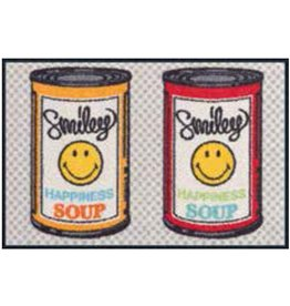 Kleen-Tex Schoonloopmat Smiley Happiness Soup