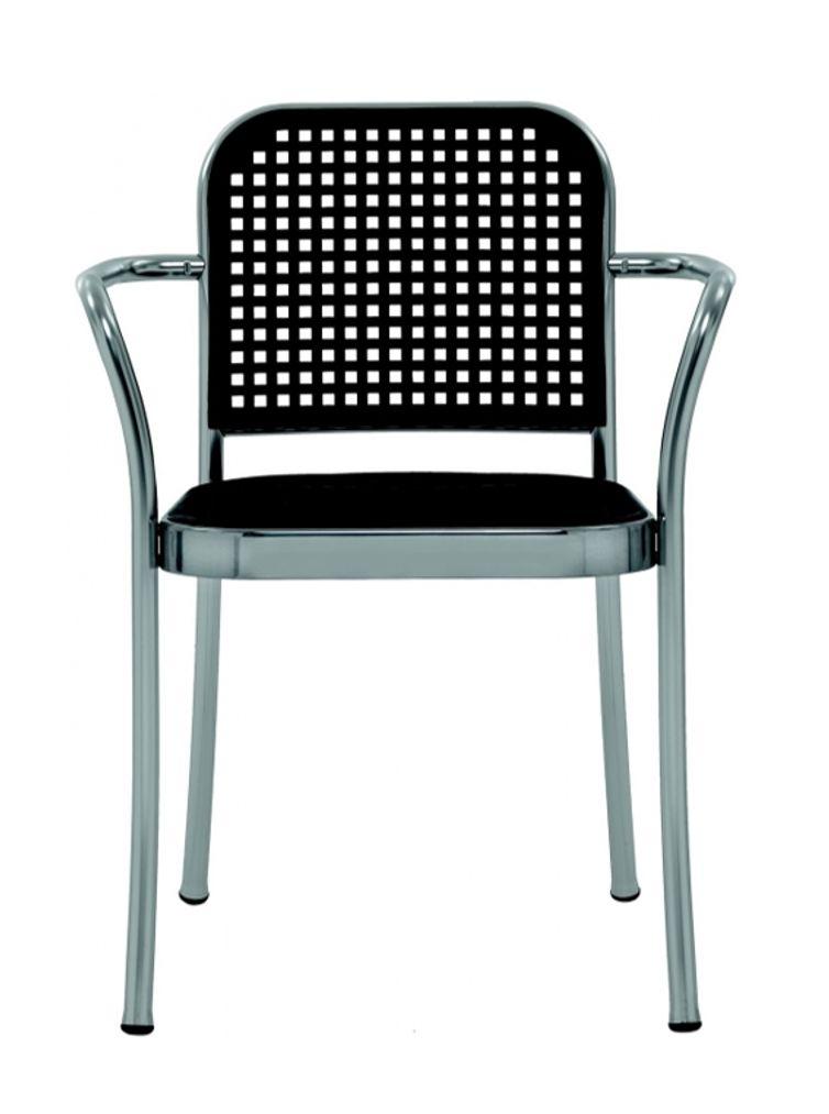 Depadova silver stoel design online meubels - Stoel met armleuningen senior ...