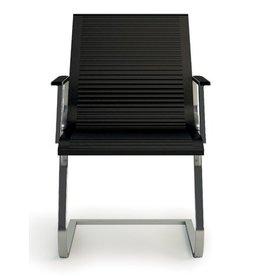 Luxy Luxy Nulite bezoekers stoel leer ribbed