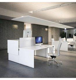 Fantoni Fantoni Quaranta5 2persoons dubbel bureau verstelbaar