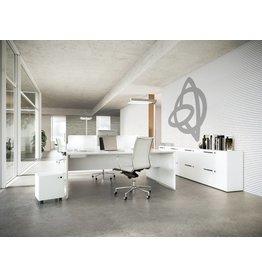 Fantoni Fantoni Quaranta5 2-persoons bureau