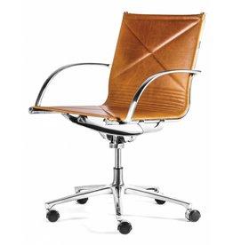 Engelbrechts Engelbrechts Joint bureaustoel (leer)