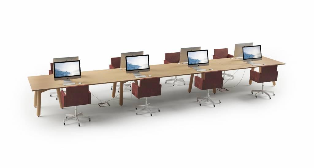 dum beech connect design vergadertafel design online meubels. Black Bedroom Furniture Sets. Home Design Ideas