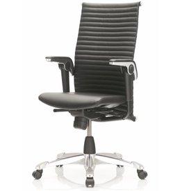 HÅG HAG Excellence 9321 leren bureau stoel, medium rugleuning