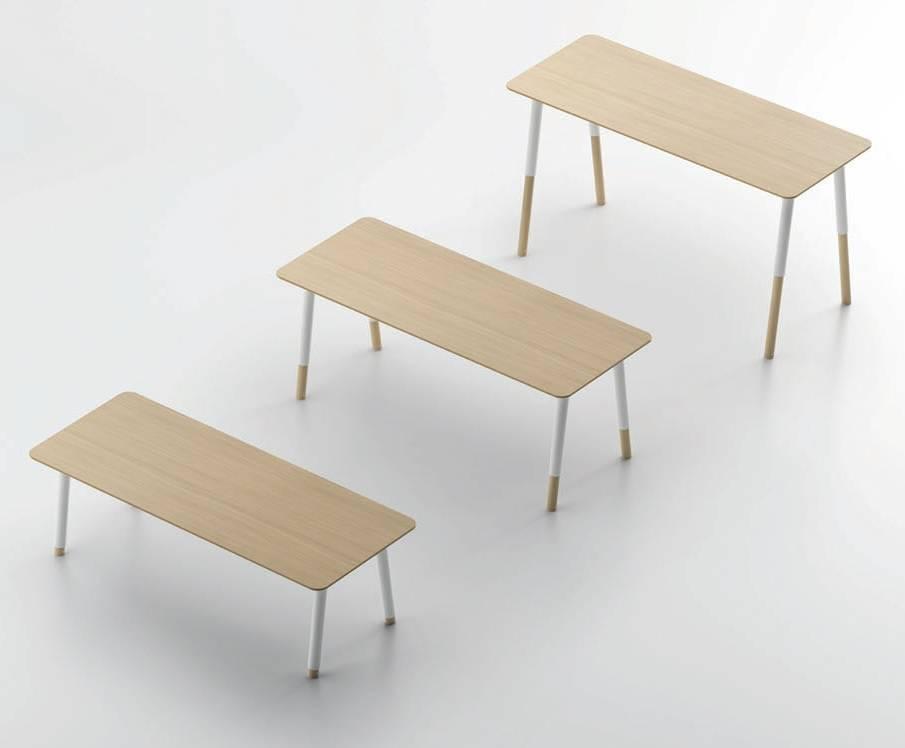 Fantoni woods verstelbaar bureau design online meubels