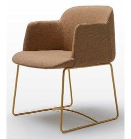 Quinti Quinti Deep stoel met slede frame