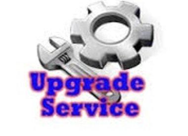 Update/installatie services