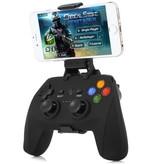 game pad de luxe 2,4 ghz dongle en bluetooth met smartphone houder